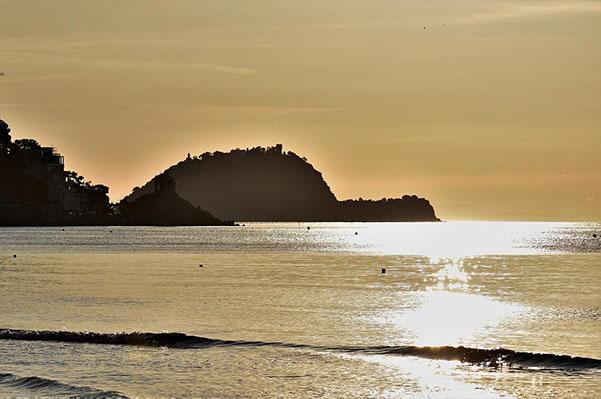 La spiaggia di Alassio