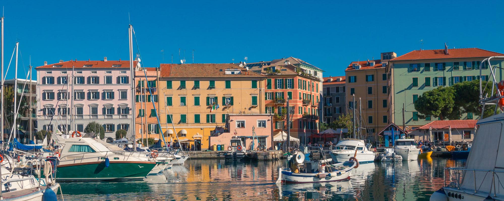 Quartieri e circoscrizioni a Savona