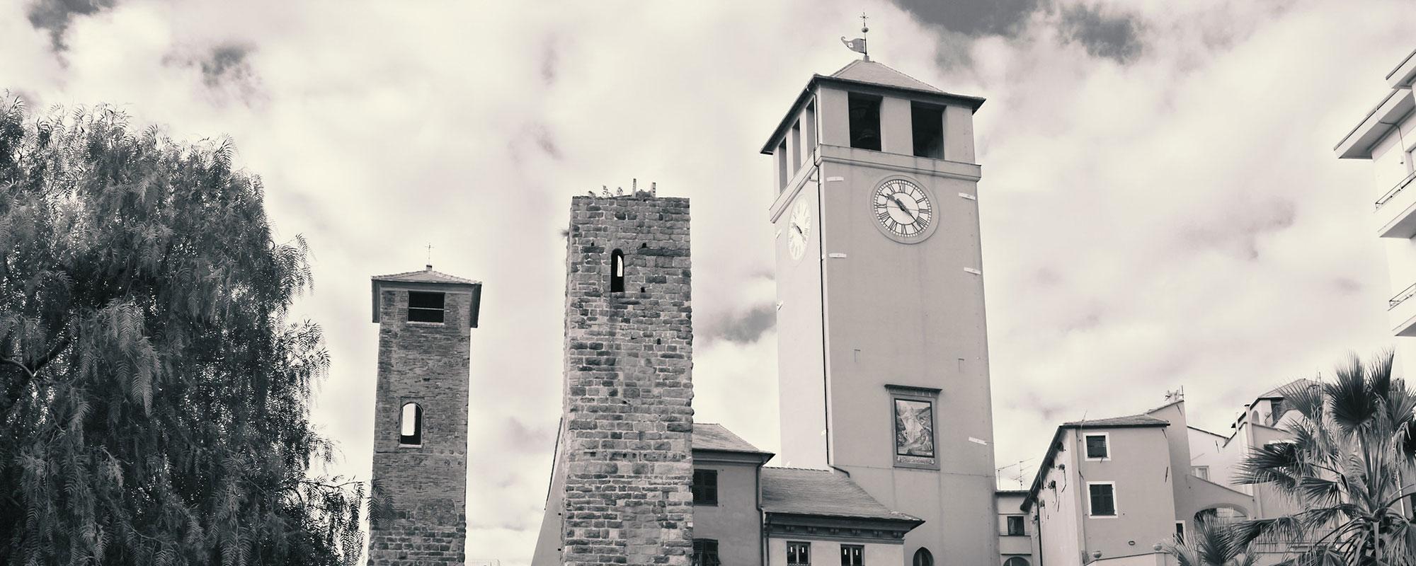 Le Torri di Savona, Riviera ligure di Ponente, Liguria