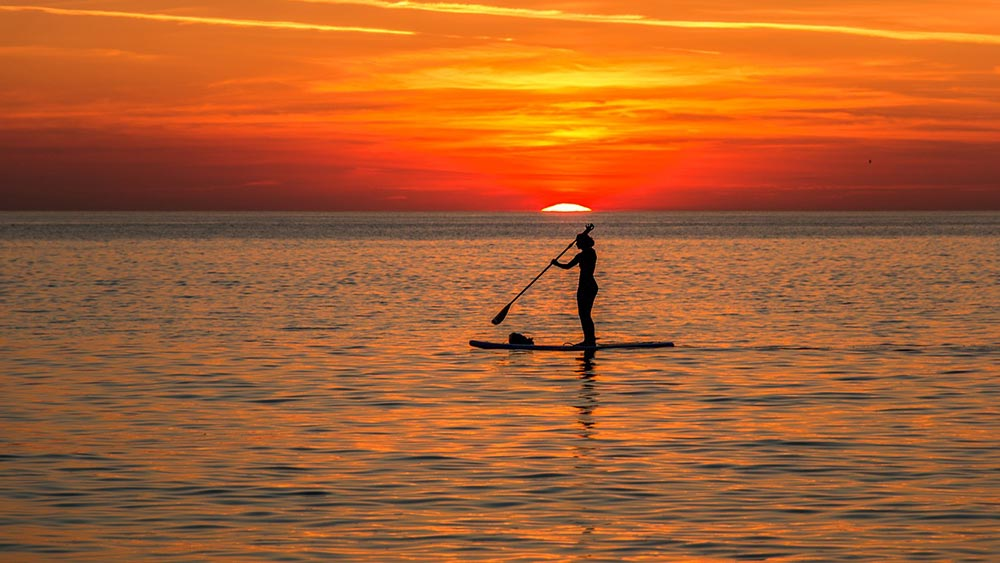 SUP in Liguria